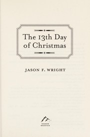 Cover of: The 13th day of Christmas