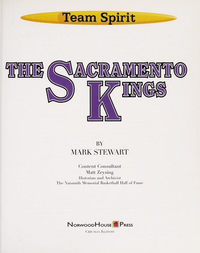 The Sacramento Kings by Stewart, Mark