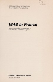 Cover of: 1848 in France