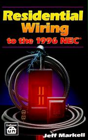 Cover of: Residential wiring to the 1996 NEC