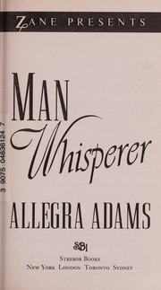 Cover of: The man whisperer