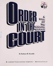 Cover of: Order in the Court | kathiann m. kowalski