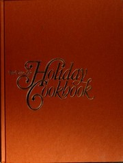 Cover of: The Time-Life holiday cookbook
