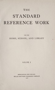 Cover of: The Standard reference work, for the home, school, and library ... | Harold Melvin Stanford