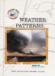 Cover of: Weather patterns | Carol Hand