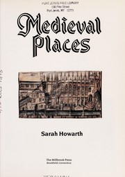 Cover of: Medieval places | Sarah Howarth