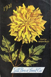 Cover of: Gill Bros. Seed Co., 1931