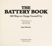 Cover of: The battery book | Joey Reiman