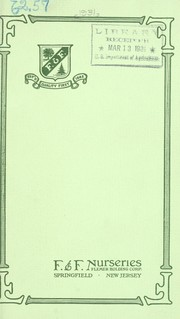 Cover of: F. & F. Nurseries, Flemer Holding Company | F & F Nurseries