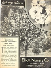 Cover of: Fall 1931 edition