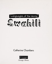 Cover of: Swahili