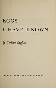 Cover of: Eggs I have known