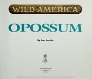 Cover of: Opossum | Lee Jacobs