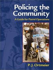 Cover of: Policing the Community