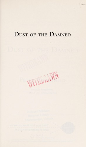 Dust of the damned by Peter Brandvold