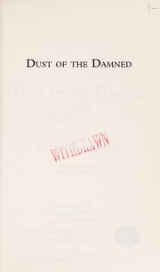 Cover of: Dust of the damned | Peter Brandvold