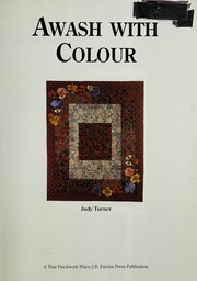 Cover of: Awash With Colour | Judy Turner