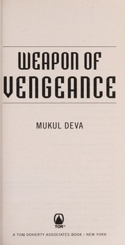 Cover of: Weapon of vengeance