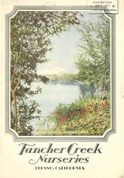 Cover of: Fancher Creek Nurseries [catalog]