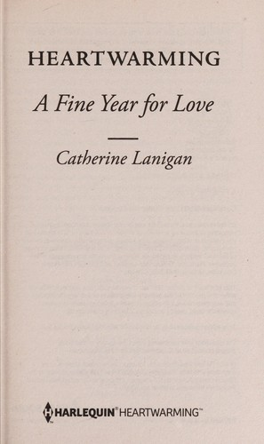 Fine year for love by Catherine Lanigan