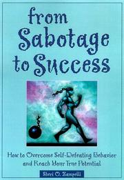 Cover of: From Sabotage to Success