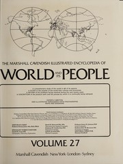 Cover of: The Marshall Cavendish illustrated encyclopedia of world and its people