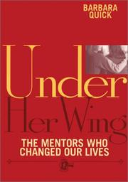 Cover of: Under her wing