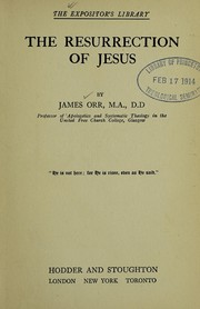 Cover of: The resurrection of Jesus