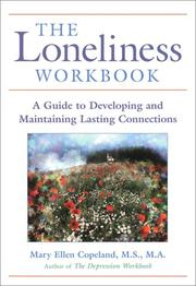 Cover of: loneliness workbook | Mary Ellen Copeland