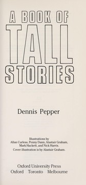 Cover of: A Book of Tall Stories | Dennis Pepper