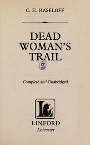 Cover of: Dead Womans Trail