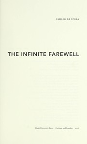 Cover of: Althusser, the infinite farewell