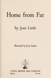 Cover of: Home from far