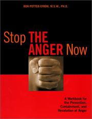 Cover of: Stop the anger now