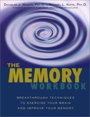 Cover of: The memory workbook | Douglas J. Mason