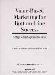 Cover of: Value-based marketing for bottom-line success