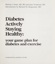 Cover of: Diabetes actively staying healthy | Marion J. Franz
