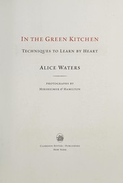 Cover of: In the green kitchen