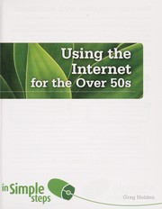 Cover of: Using the Internet for the over 50s