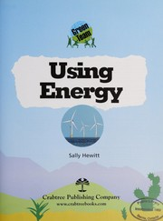 Cover of: Using energy | Sally Hewitt