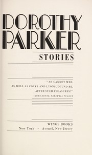 Cover of: Dorothy Parker stories
