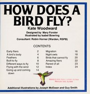Cover of: How Does a Bird Fly? (Starting Point Science Series) |