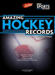 Cover of: Amazing hockey records | Thom Storden