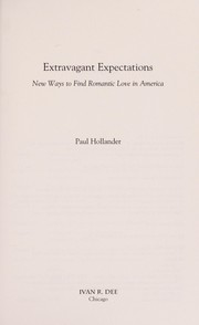 Cover of: Extravagant expectations