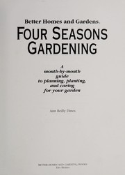 Cover of: Four seasons gardening