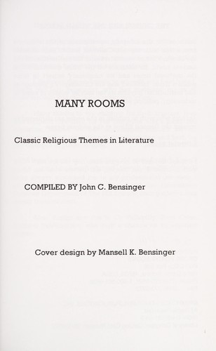 Many rooms by [compiled by John C. Bensinger].