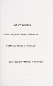 Cover of: Many rooms | [compiled by John C. Bensinger].