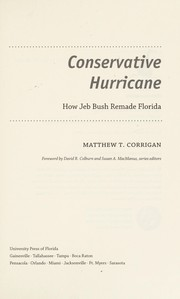 Cover of: Conservative hurricane | Matthew T. Corrigan