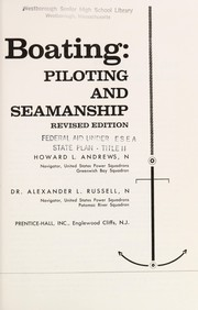 Cover of: Basic boating: piloting and seamanship