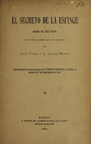 Cover of: El secreto de la esfinge